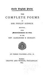 The Complete Poems of Sir Philip Sidney: Volume 2