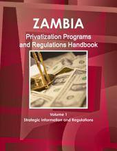 Zambia Privatization Programs and Regulations Handbook