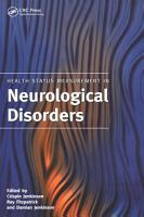 Health Status Measurement in Neurological Disorders PDF