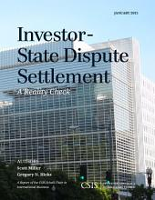 Investor-State Dispute Settlement: A Reality Check