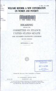 Welfare Reform PDF