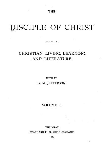 Download The Disciple of Christ Book