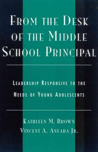 From the Desk of the Middle School Principal Book