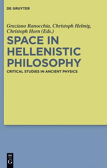 Space in Hellenistic Philosophy PDF