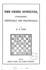 The chess openings  considered critically and practically PDF