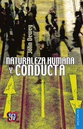 Naturaleza humana y conducta: Introducción a la psicología social