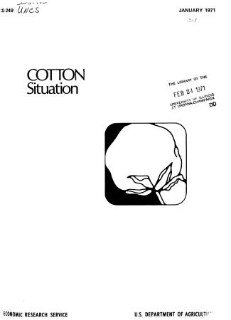The Cotton Situation PDF