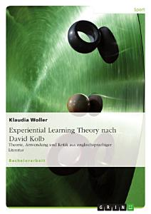 Experiential Learning Theory Nach David Kolb PDF