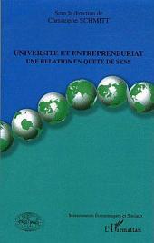 Université et entrepreneuriat: Une relation en quête de sens