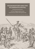Microhistory and the Picaresque Novel PDF