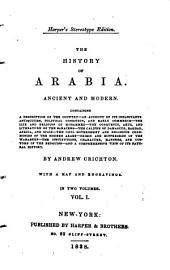 The History of Arabia, Ancient and Modern ...