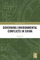 Governing Environmental Conflicts in China PDF