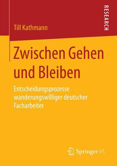 Zwischen Gehen und Bleiben PDF