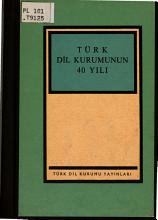 T  rk Dil Kurumunun 40 yili PDF