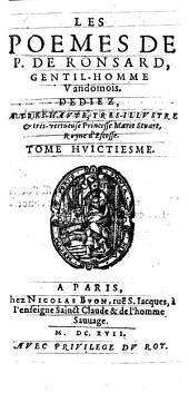 Les Oeuvres: Commenté par N. Richelet Parisien. ¬Les Poemes, Volume8
