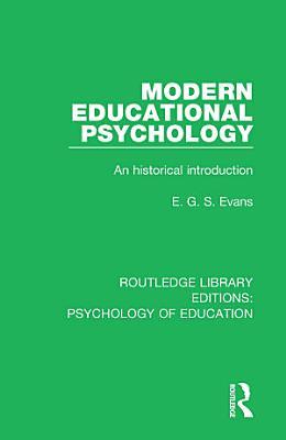 Modern Educational Psychology