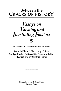 Publications of the Texas Folklore Society PDF