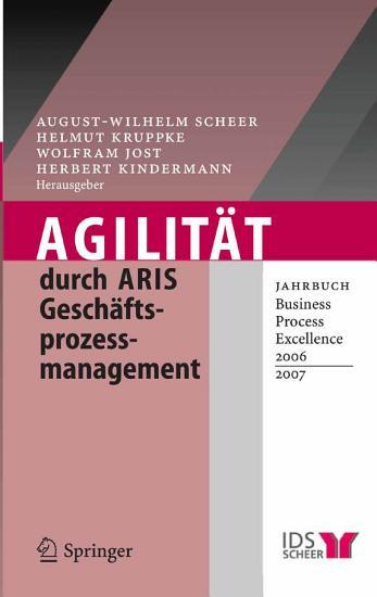 Agilit  t durch ARIS Gesch  ftsprozessmanagement PDF