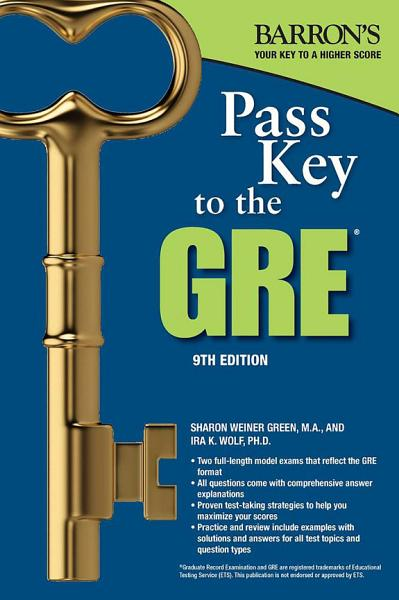 Pass Key to the GRE PDF