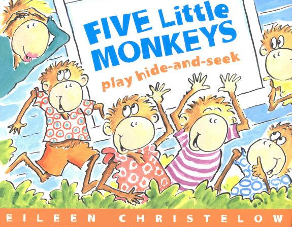 Five Little Monkeys Play Hide and Seek