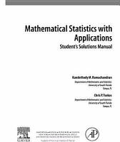 Student Solutions Manual  Mathematical Statistics with Applications PDF