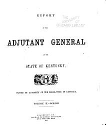 Report of the Adjutant General of the State of Kentucky PDF