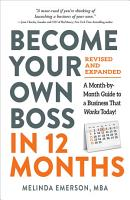 Become Your Own Boss in 12 Months  Revised and Expanded PDF