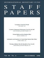 IMF Staff papers: Volume 45, Issue 4