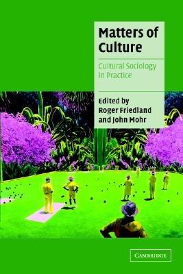 Matters of Culture PDF