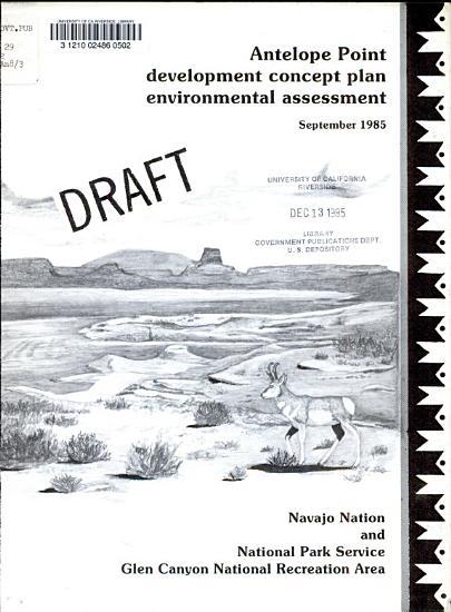 Antelope Point Development Concept Plan  Environmental Assessment PDF