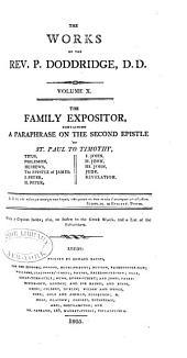 The Works of the Rev. P. Doddridge: Volume 10