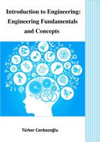 Introduction to Engineering  Engineering Fundamentals and Concepts PDF