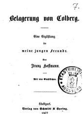 Belagerung von Colberg: eine Erzählung für meine jungen Freunde