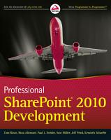 Professional SharePoint 2010 Development PDF
