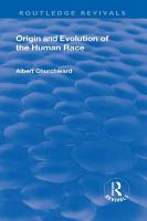 Revival  Origin and Evolution of the Human Race  1921  PDF
