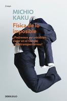 F  sica de lo imposible PDF