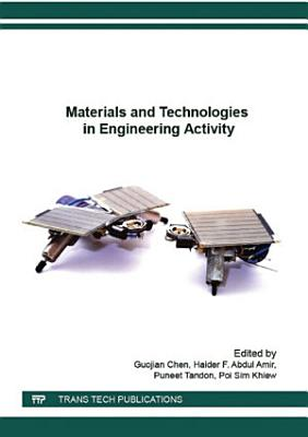 Materials and Technologies in Engineering Activity PDF