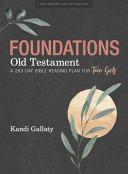 Foundations: Old Testament - Teen Girls' Devotional
