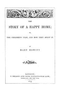 The Story of a Happy Home  Or The Children s Year and how They Spent it PDF