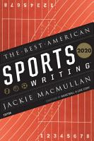 The Best American Sports Writing 2020 PDF