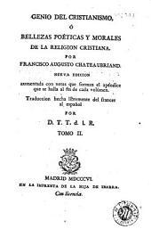 Genio del cristianismo, ó, Bellezas poéticas y morales de la religion cristiana