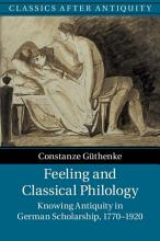 Feeling and Classical Philology PDF