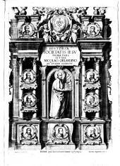 Historiae Societatis Iesu prima pars autore Nicolao Orlandino Soc.tis eiusdem sacerdote
