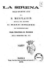 La sirena ballo in sette atti di H. Monplaisir
