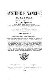 Système financier de la France: Volume6
