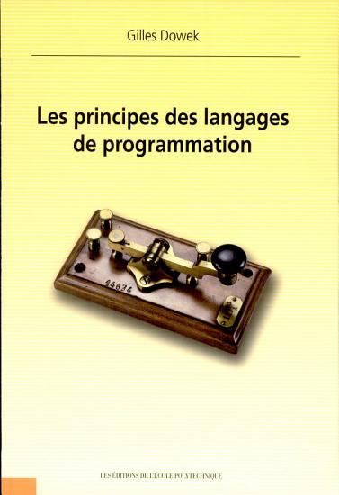 Les principes des langages de programmation PDF