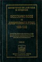 Diccionario indice de jurisprudencia penal 1989 1992  Tomo IX PDF