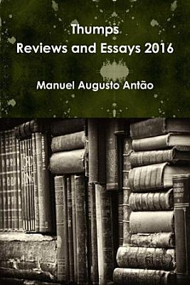 Thumps   Reviews and Essays 2016