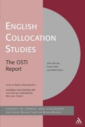 English Collocation Studies: The OSTI Report