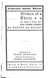 A Woman of Thirty : and Other Stories